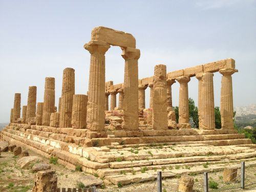 italy sicily temple