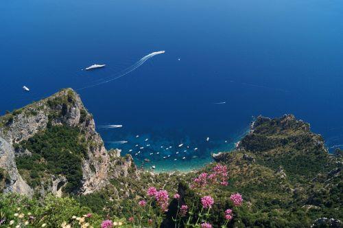italy landscape capri
