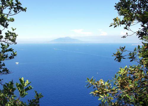 italy capri mediterranean
