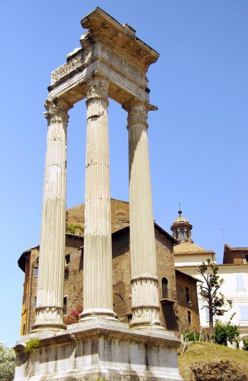 italy rome forum