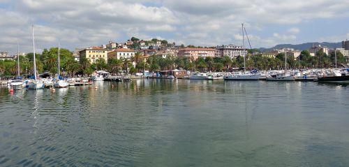 italy coast harbor