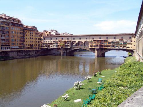 italy bridge ponte vecchio