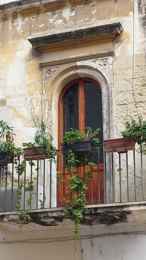 italy balcony door