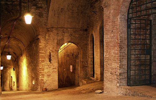 italy perugia fortress