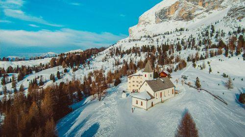 italy alta badia alpine