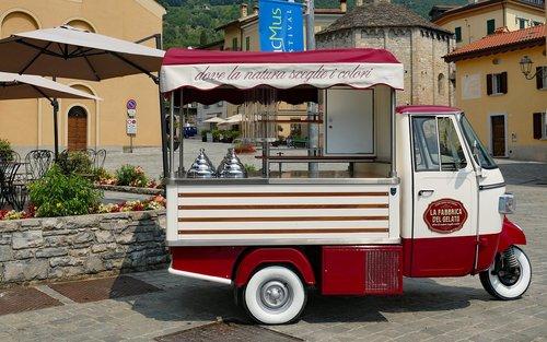 italy  ice cream van  ice cream