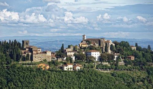 italy  toscana  region montecatini
