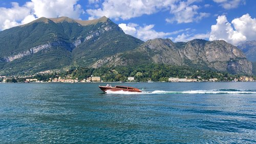 italy  boat  landscape