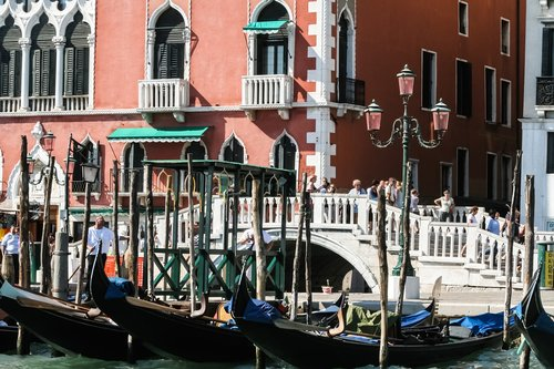 italy  venessia  the gondolier