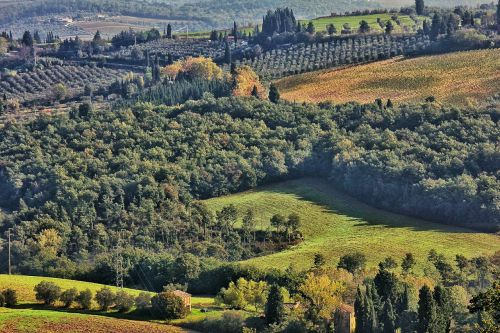 italy landscape tuscany