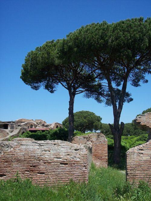 italy italia ostia antica