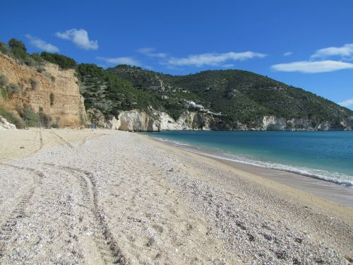 italy mattinatella beach