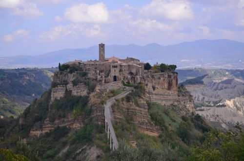 italy the medieval city beauty