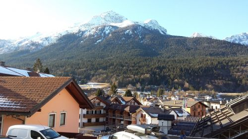 italy andalo mountains