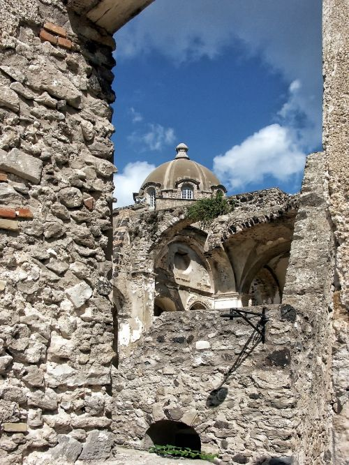 italy ischia dome