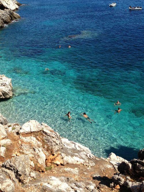 italy summer sea