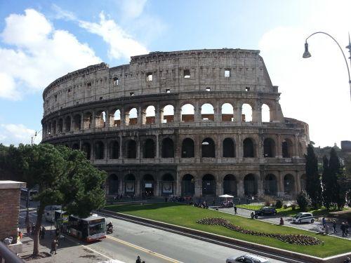 italy roman amphitheater