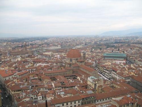italy, Florencija, stogas, italy florence