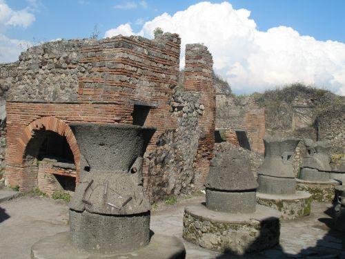Italy Pompeii Ruins