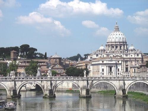 Italy Roma Bridge