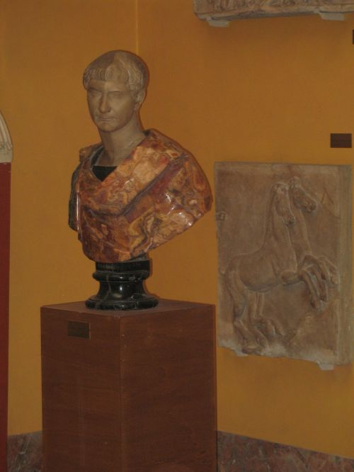 Italy Roman Bust Carving