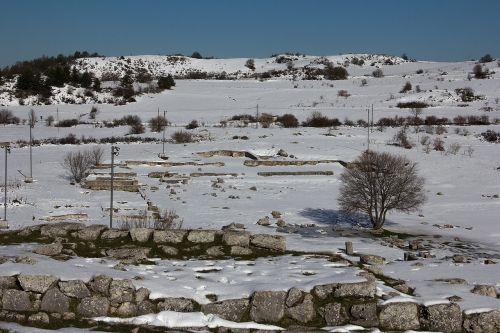 iuvanum montenerodomo archaeological park