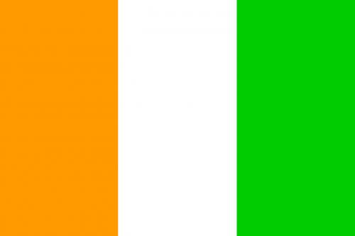 ivory coast flag cote