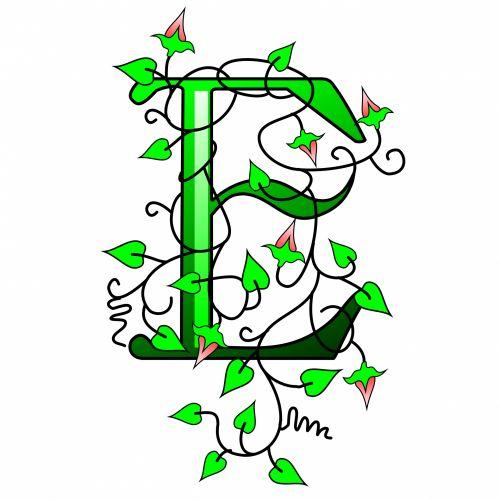 Ivy Capital Letter E