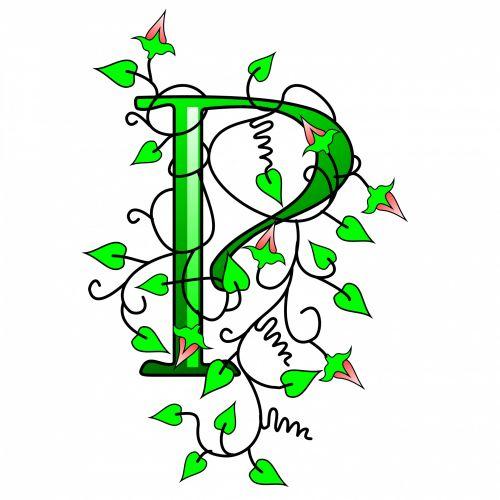 Ivy Capital Letter P