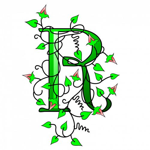 Ivy Capital Letter R