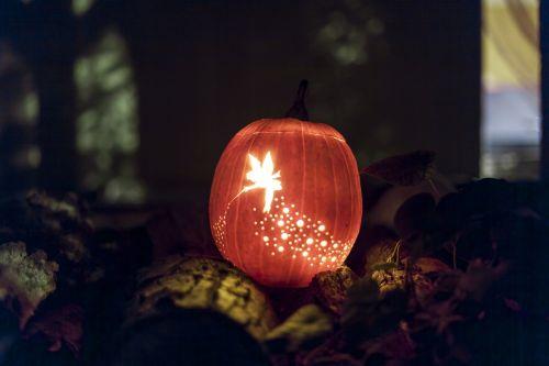 jack-o'-lantern tinker bell lantern