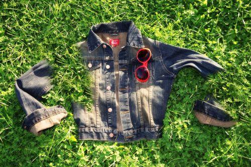 jacket denim garment