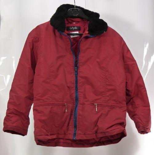 jacket red black