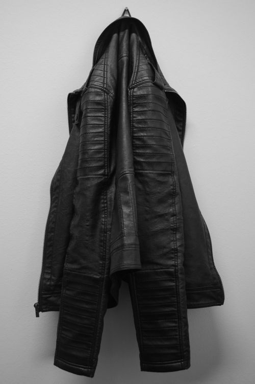 jacket leather coat clothing