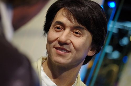 jackie chan actor a wax dummy