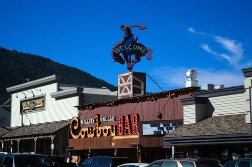 jackson hole store fronts  wyoming  stores