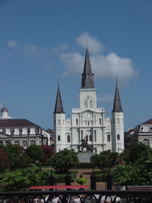 jackson square louisiana orleans