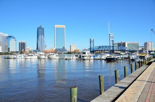 Jacksonville Florida Cityscape