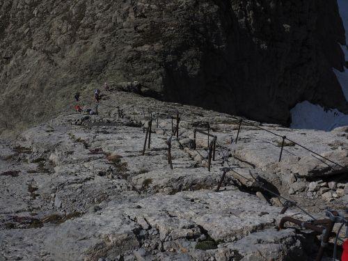 jacob's ladder descent säntis