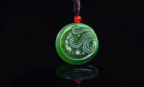 jade jasper pendant