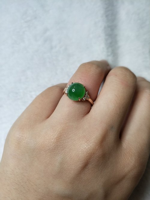 jade  green  jade ring