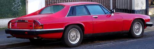 Jaguar 3.6 Litre XJS Car Rear Side