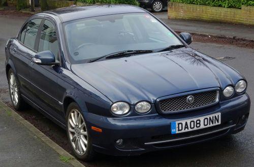 Jaguar Saloon Car