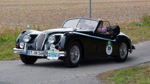 jaguar xk140 3  4 se dhc  oldtimer