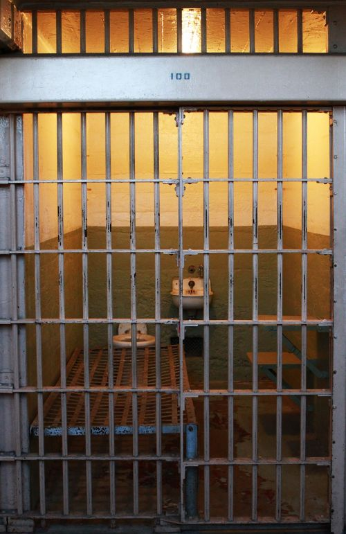 jail cell alcatraz prison