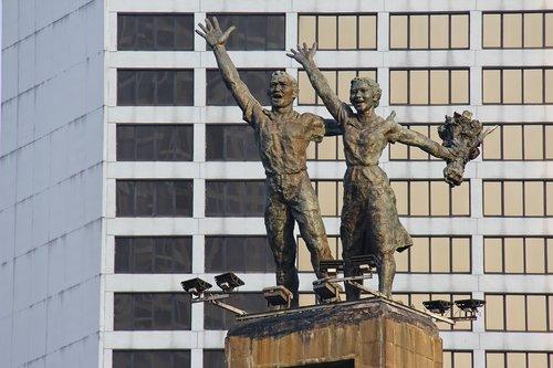 jakarta  sculpture  indonesian