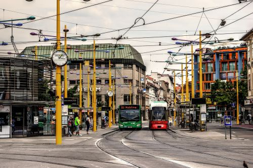 jakominiplatz graz tram stop
