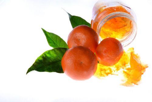 jam orange food