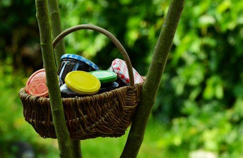 jam glasses jam jars
