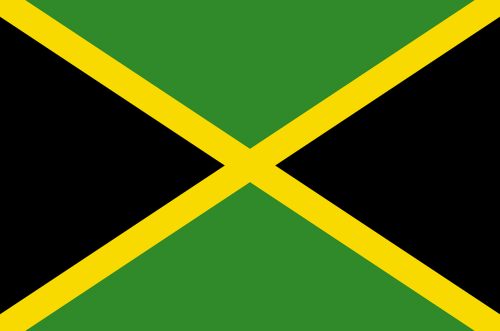 jamaica flag national flag